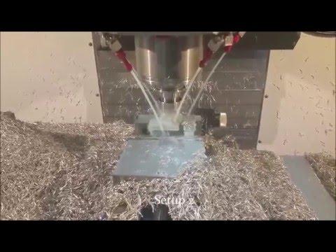 Haas VF4 Machining at Dynamic Machine
