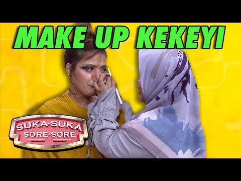 DUHH NGAKAK! Chika Jessica Dimake Up Kekeyi - Suka Suka Sore Sore (11/1) PART 4