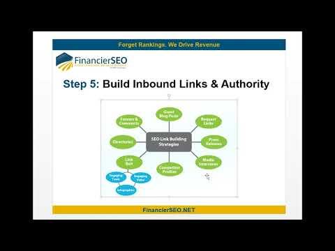 Link Building for SEO   Advice for New Financial Advisors   Financier SEO
