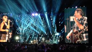 blake shelton my eyes cma fest lp field nashville 2014