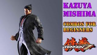 Tekken 7 - Kazuya Combos for Beginners thumbnail