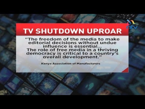 Civil society condemns clampdown on TV stations