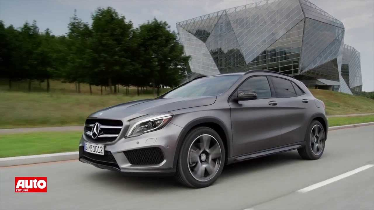 mercedes gla 250 4matic kompakt suv mit 211 ps youtube. Black Bedroom Furniture Sets. Home Design Ideas