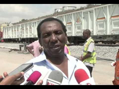 60 SGR freight wagons arrive at Mombasa