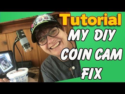 My DIY Coin Cam Fix  Tutorial