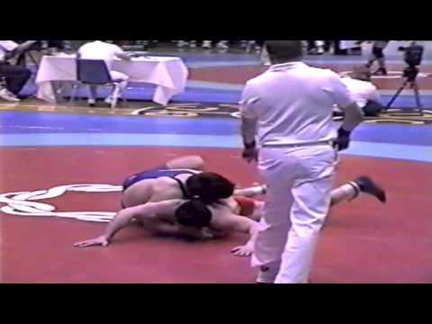1993 World Cup: 90 kg Vitali Gizoev (RUS) vs. Alf Wurr (CAN)