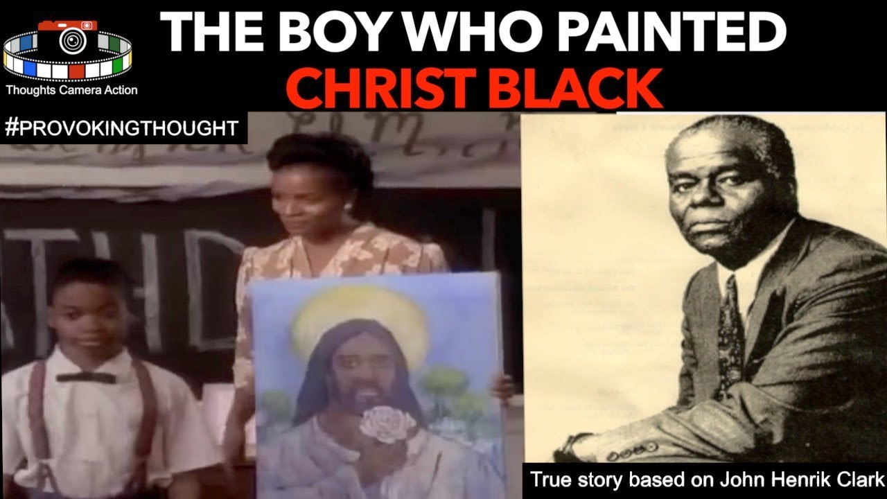 "The Boy Who Painted Christ ""Black"" ????????"