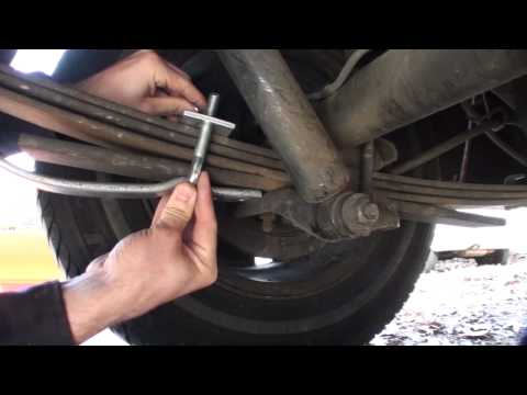 How to install Leaf Helper Springs