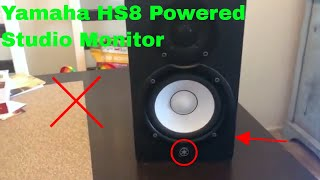 ✅  How To Use Yamaha HS8 Powered Studio Monitor Review