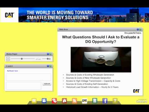 Caterpillar Webcast: Power for Electric Utilities