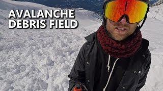 Exploring The Avalanche Debris Field - Whistler, B.C