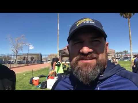 Adrian Ferris Rugby Head Coach - CCIG Tiger Rugby Las Vegas Sevens 2018
