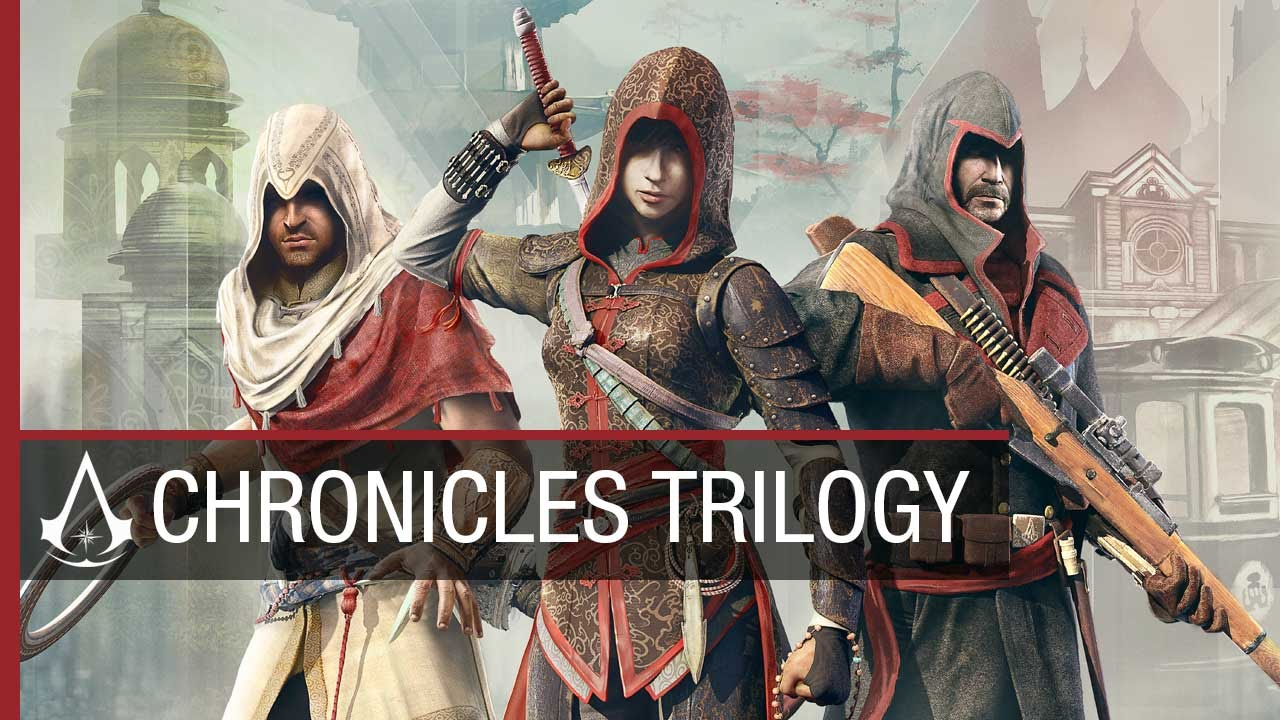 Assassin S Creed Chronicles Trilogy China India Russia