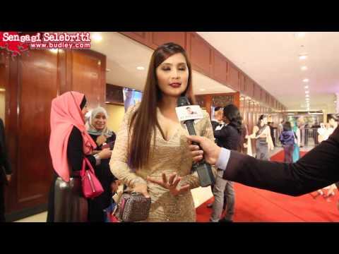 Fesyen Meletop Adeline Tsen Di Anugerah Skrin 2014