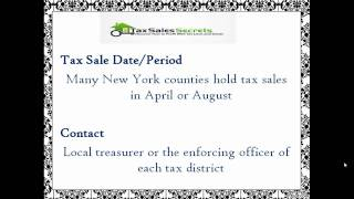 New York Tax Deeds