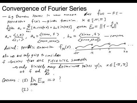 Fourier Series Convergence Theorem