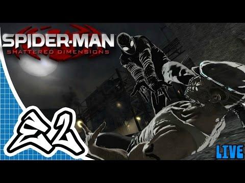 Spider-Man: Shattered Dimensions (PC) Livestream Pt.3 - Ultimate Spider-Man