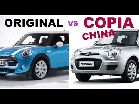 TOP 5 COPIAS DE AUTOS ECHAS POR CHINOS
