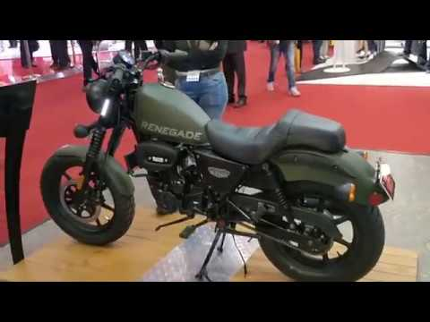 Um Renegade Duty S Unveiled Price Rs 1 1 Lakh Details Features Auto Expo 2018 Shotononeplus Youtube