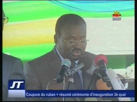 Inauguration du 3ème Quai au Port autonome de Lomé au Togo  Résumé des cérémonies