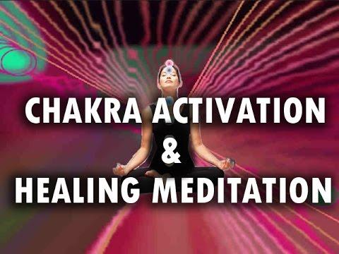 Chakra Activation & Healing Meditation with Binaural Beats & Drums