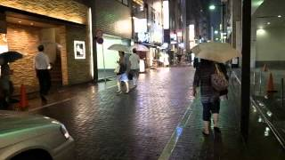 Rainy Ginza Side Streets 120706g