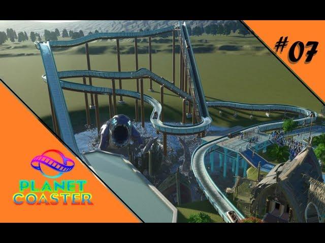 WASSERSPRITZER LEICHT GEMACHT 🎢 Let's Play Planet Coaster #07