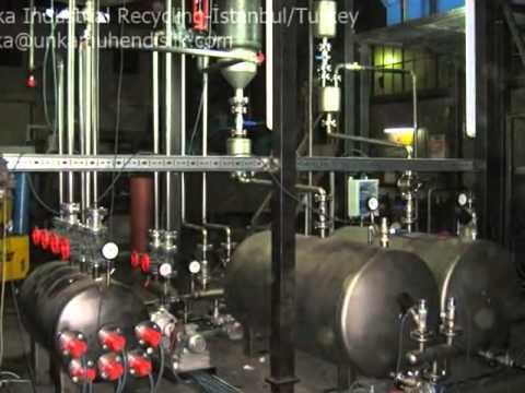 Thin Film Evaporator Manufactured by Unka Engineering