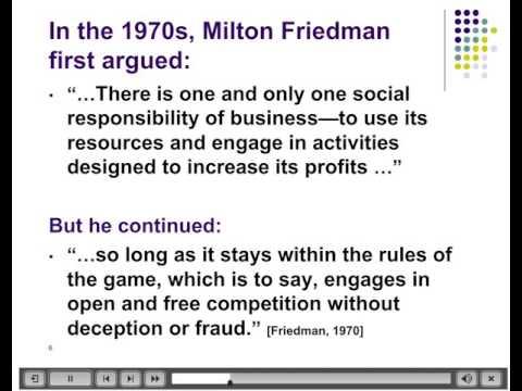 Stakeholder vs Shareholder Theory