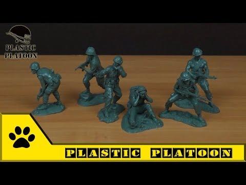 Солдатики Plastic Platoon: первая кавалерийская дивизия США,  война во Вьетнаме