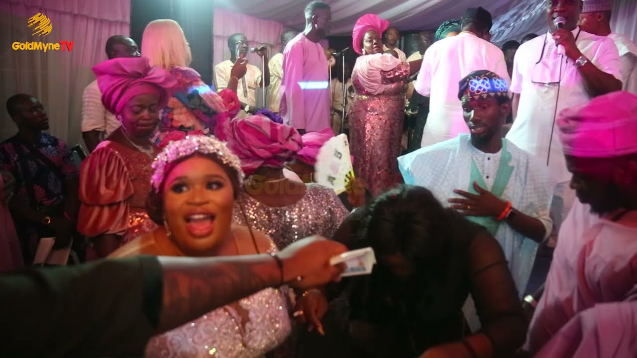 LAGOS SOCIALITE, YAH LATEEF GIVES HIS DAUGHTER, AIRATU IN MARRIAGE AS K1 DE ULTIMATE DAZZLES