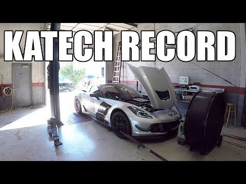 Katech Vlog - Apexx C7 Corvette Z06 for SEMA breaks Katech's C7 Z06 stock supercharger records