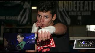 RYAN GARCIA TALKS POST-FIGHT