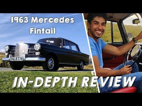 Download Mercedes 190C Fintail in-depth drive review (W110)