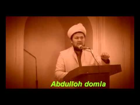 ABDULLOH DOMLA MARUZALARI MP3 СКАЧАТЬ БЕСПЛАТНО