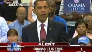 Obama Gives McCain The Finger
