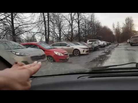 Уроки вождения парковка в городе видео