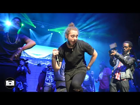 Post Malone performs TOO YOUNG - LIVE @ BEER & TACOS FEST | ATL