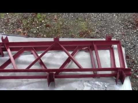 Steel Truss Porch and Deck Kits STEEL SHED TRUSSES