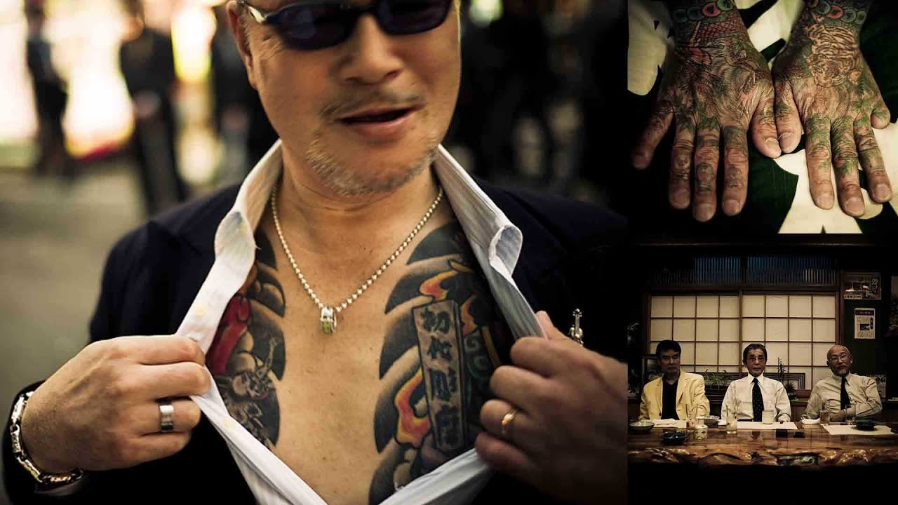 Фото японской мафии