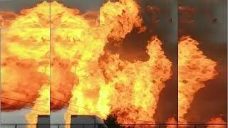 Масштабный пожар 11.07.2019 на ТЭЦ 27 в Мытищах СОБЫТИЯ, ПРОИСШЕСТВИЯ