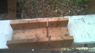 Processing Damaged And Surplus Lumber Into Firewood Dec 2, 5, 7 2013