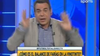 Futbol Total   Debate   ¿ Como es el balance de farias en la Vinotinto ? Parte 2