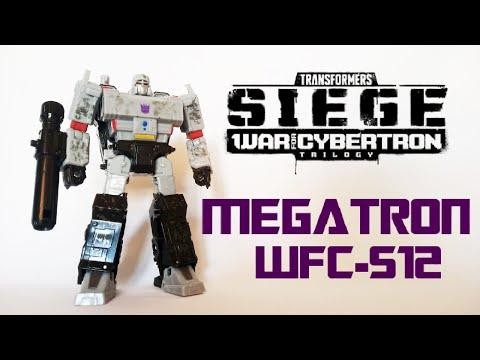 Обзор на TRANSFORMERS SIEGE - Megatron (WFC-S12)