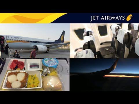 Jet Airways ECONOMY Class: Pune to Abu Dhabi
