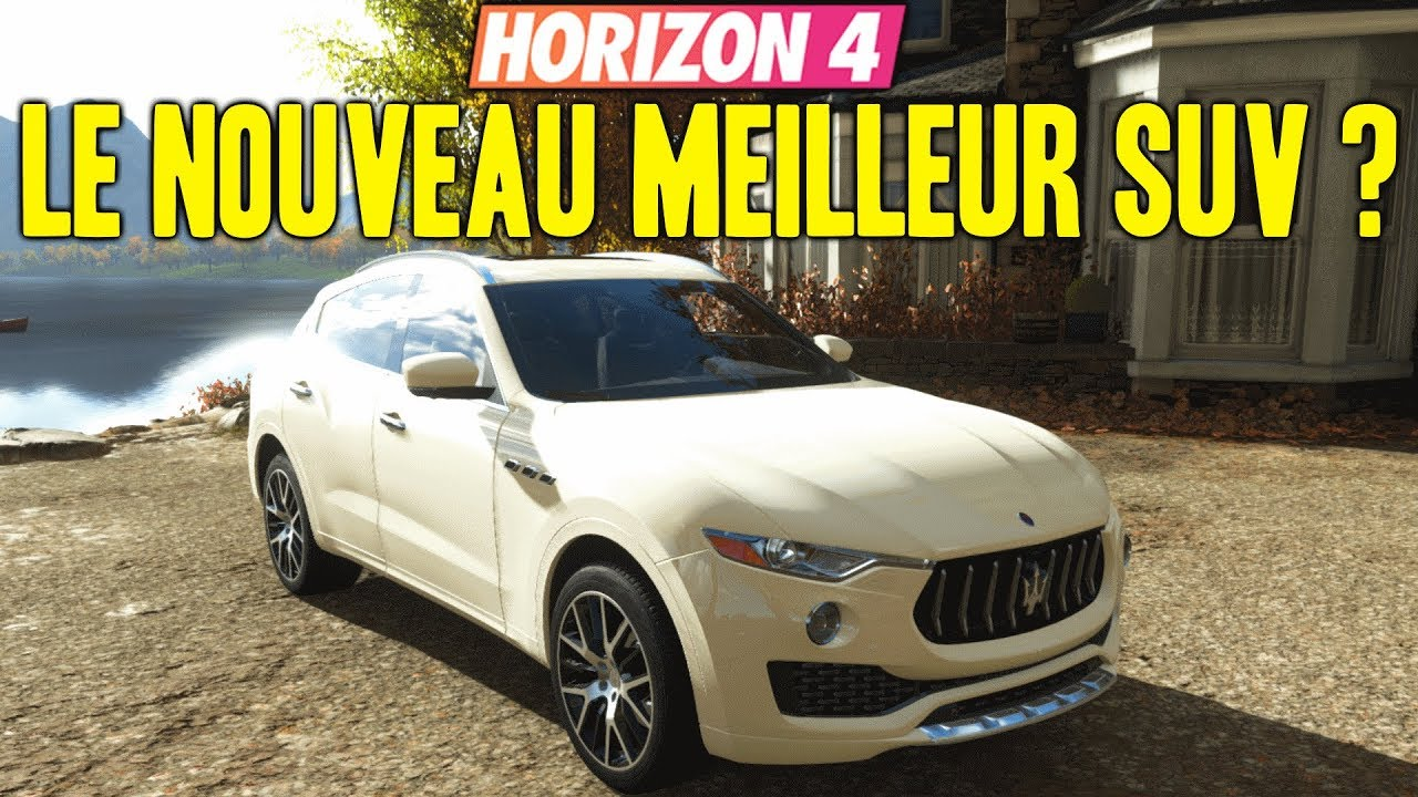 Le Meilleur Suv >> Forza Horizon 4 Le Nouveau Meilleur Suv De Fh4 Maserati