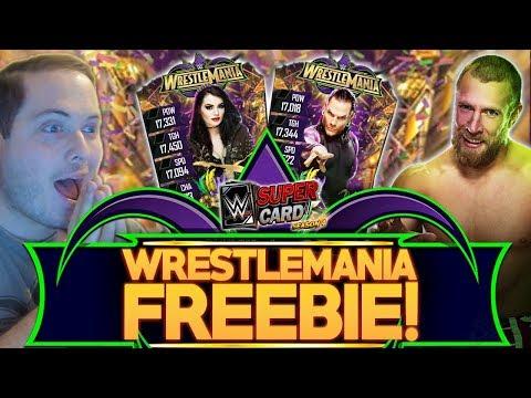 WRESTLEMANIA 34 (WM34) FREEBIE!! NEW EVENT COMING! | WWE SuperCard S4
