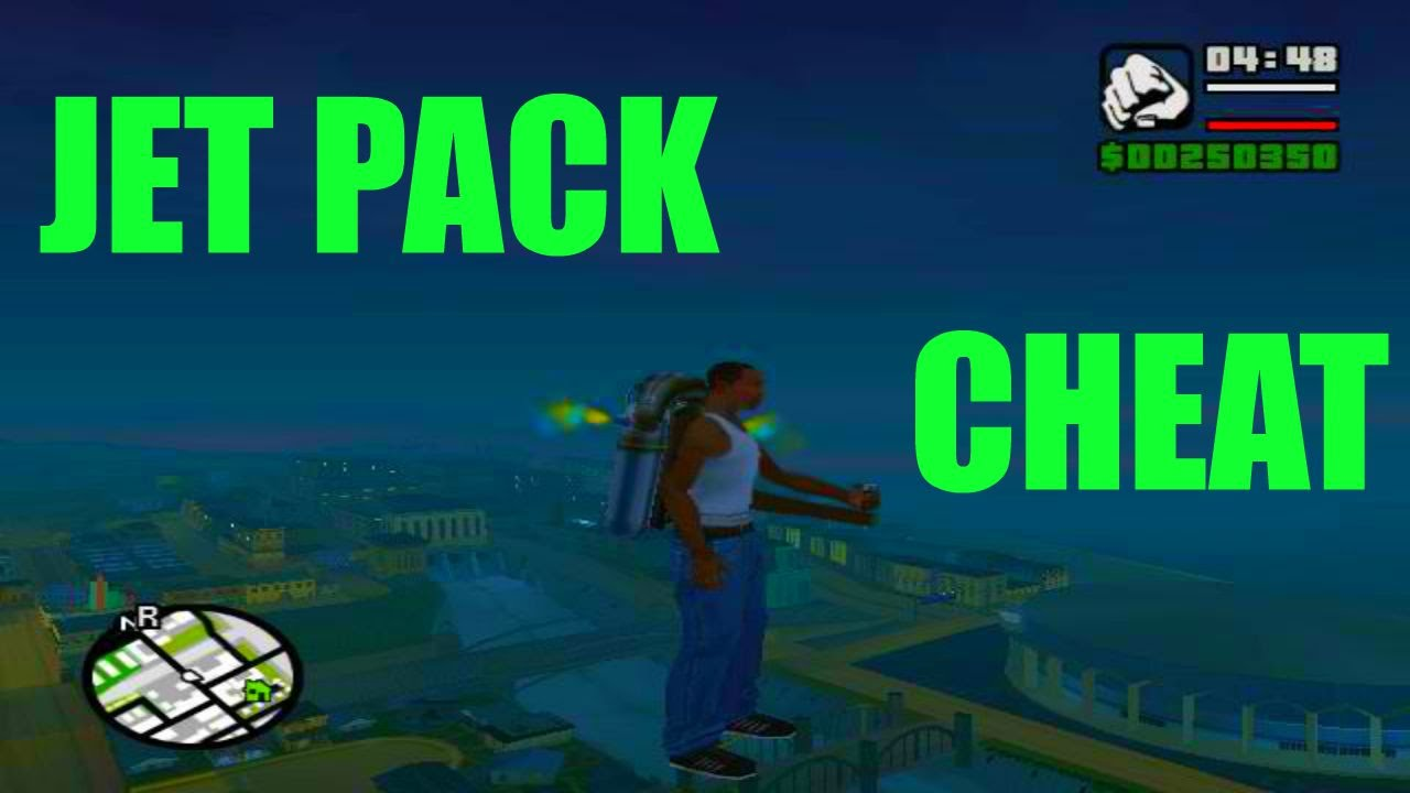 <b>G.T.A San Andreas</b> Pc Cheats - <b>Jetpack</b> - YouTube