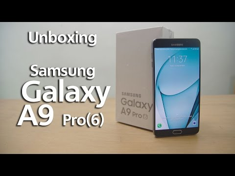 Unboxing Samsung A9 Pro 2016 Indonesia