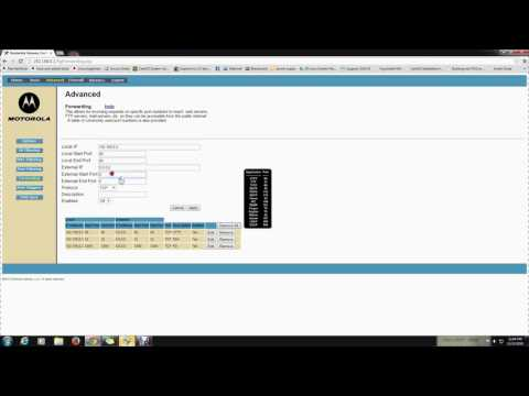 Web Server Port Forwarding